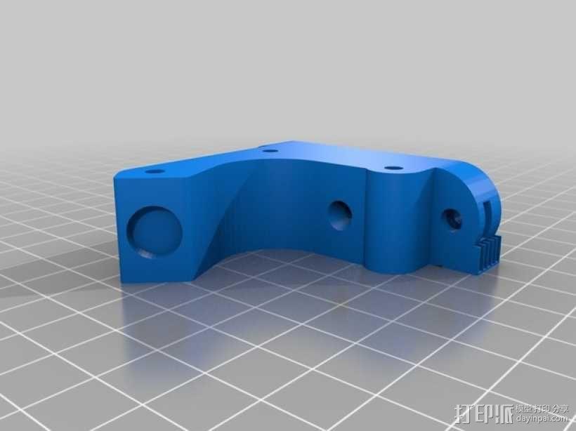 直线驱动挤出机 3D模型  图14
