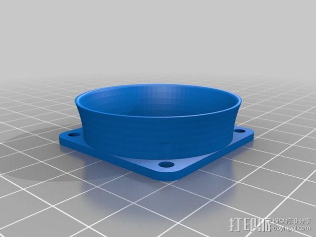 Nema 17马达风扇罩 3D模型  图5