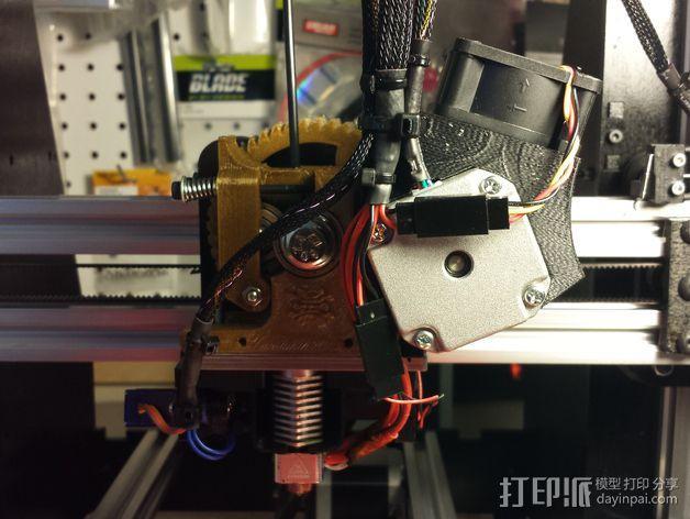 Nema 17马达风扇罩 3D模型  图7