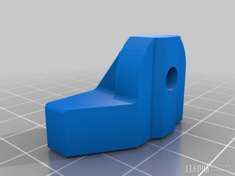 可调节的限位开关 3D模型  图5
