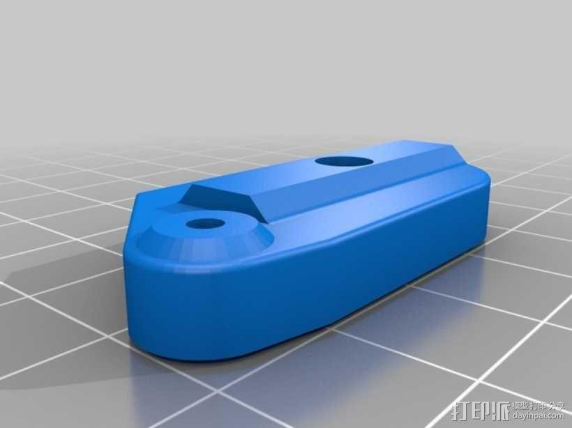 可调节的限位开关 3D模型  图6