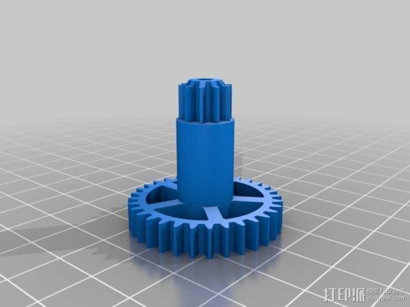 机械钟 3D模型  图9