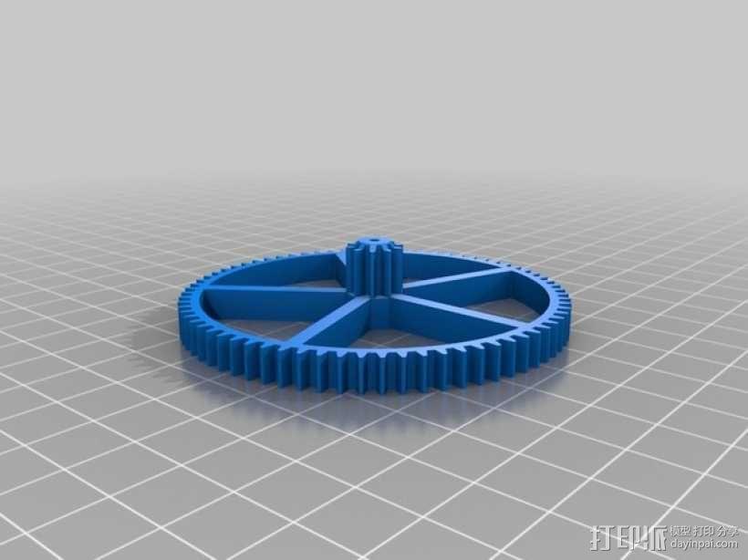 机械钟 3D模型  图12