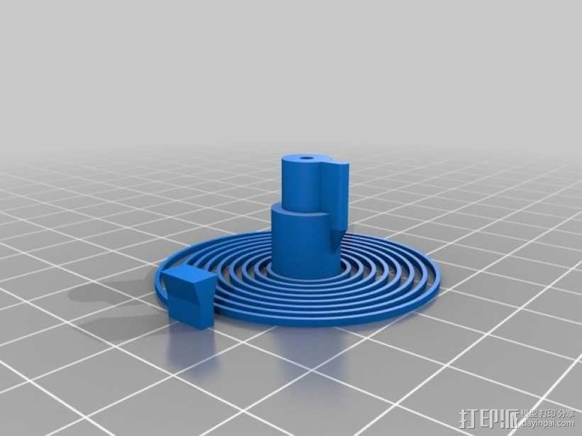 机械钟 3D模型  图15