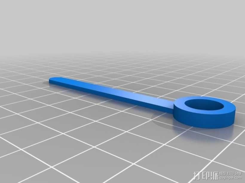机械钟 3D模型  图35