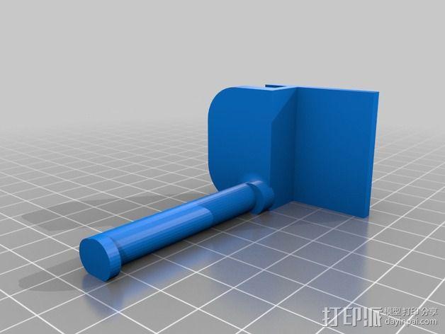 MakerBot打印机线轴架 3D模型  图2