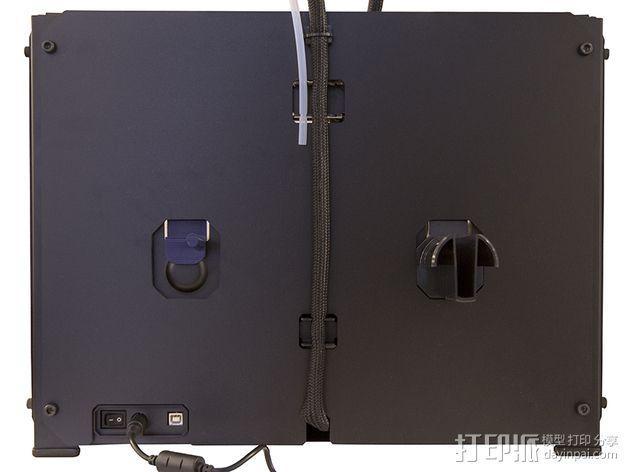 MakerBot打印机线轴架 3D模型  图6