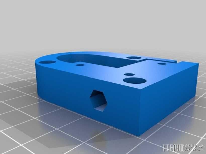 Kossel Mini 3D打印机部件 3D模型  图2