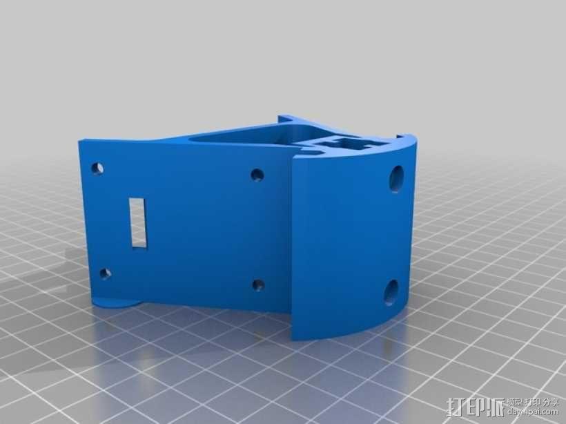Kossel Mini 3D打印机部件 3D模型  图3