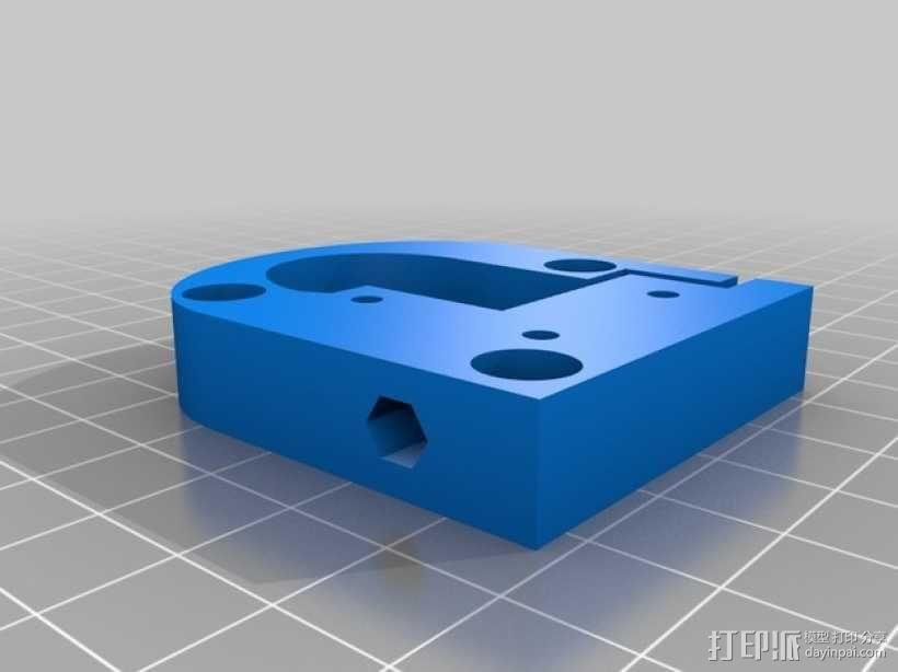 Kossel Mini 3D打印机部件 3D模型  图6