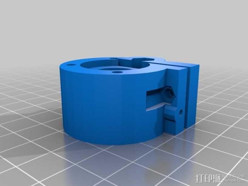 Kossel Mini 3D打印机部件 3D模型  图5