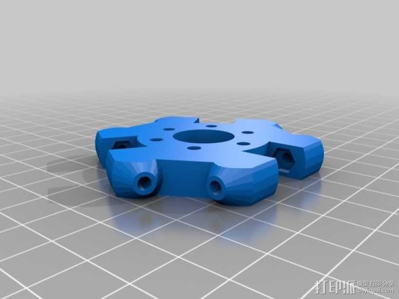 Kossel Mini 3D打印机部件 3D模型  图4