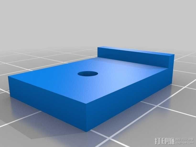 Kossel Mini 3D打印机部件 3D模型  图8