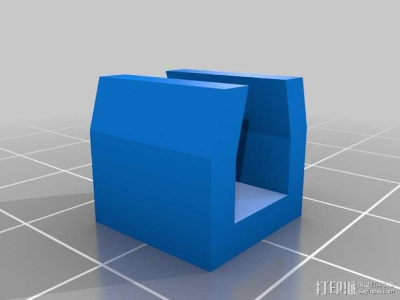Kossel Mini 3D打印机部件 3D模型  图7