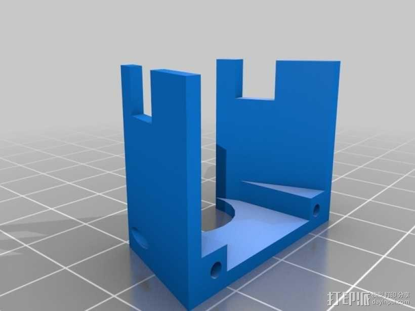 Kossel Mini 3D打印机部件 3D模型  图11