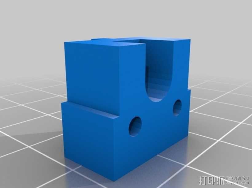 Kossel Mini 3D打印机部件 3D模型  图15