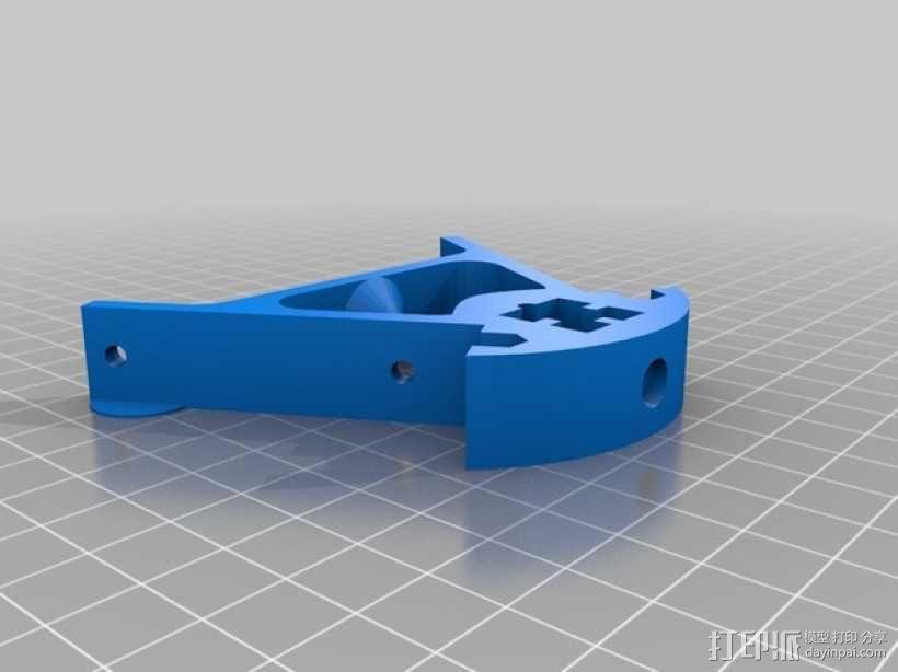 Kossel Mini 3D打印机部件 3D模型  图13