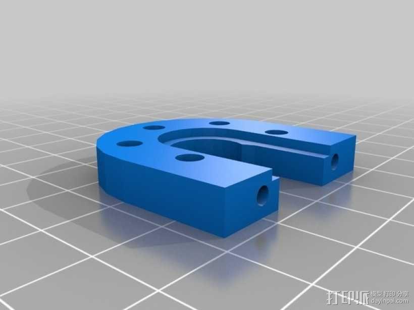 Kossel Mini 3D打印机部件 3D模型  图16