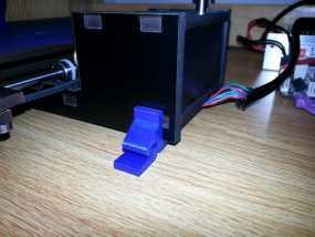 QU-BD打印机减震支架  3D模型