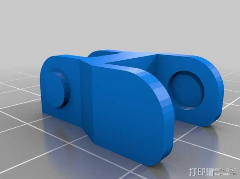 Prusa i3打印机锚链 3D模型  图2
