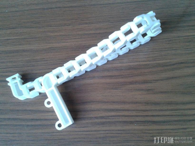 Prusa i3打印机锚链 3D模型  图1