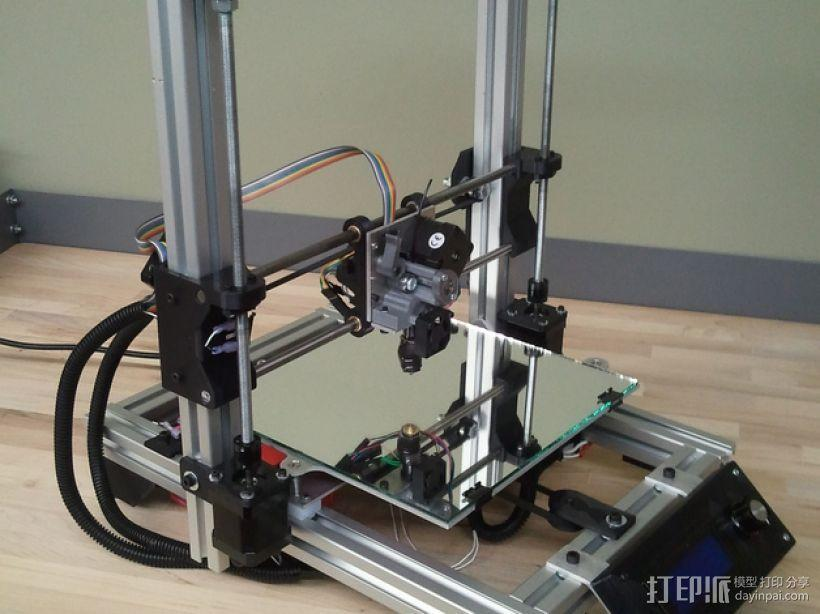 Mendel3D打印机 3D模型  图2