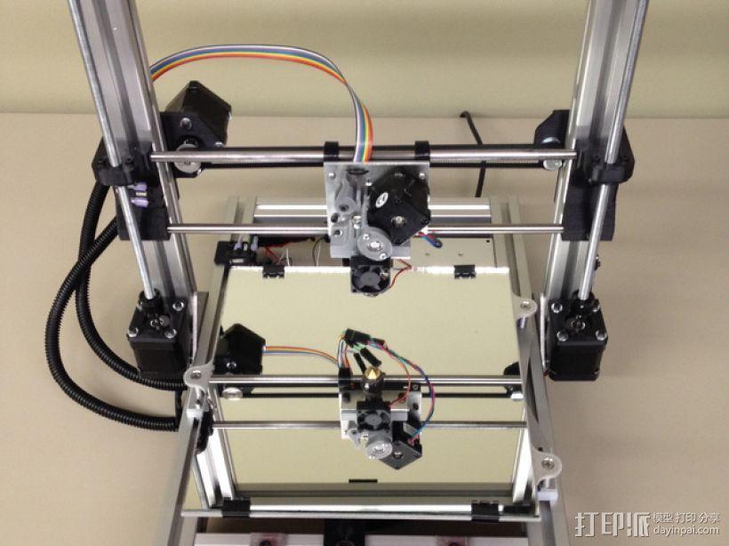 Mendel3D打印机 3D模型  图1