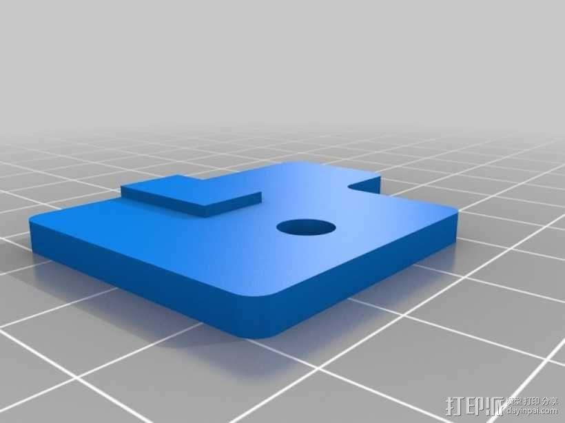 Mendel3D打印机 3D模型  图20