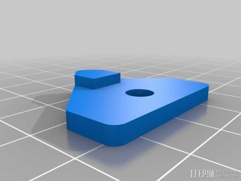 Mendel3D打印机 3D模型  图34