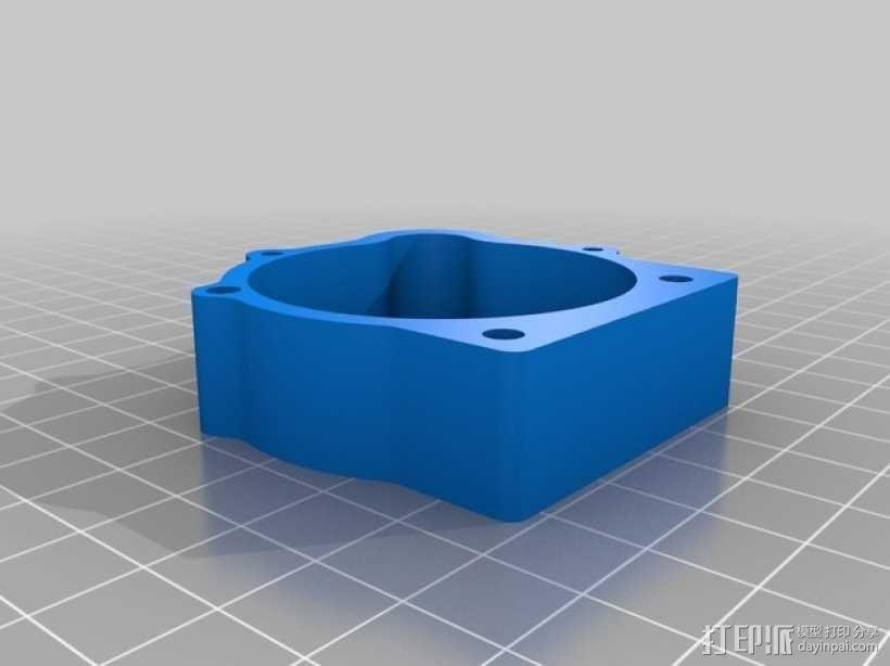 Mendel3D打印机 3D模型  图36