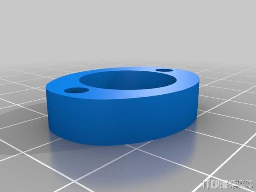 Mendel3D打印机 3D模型  图37