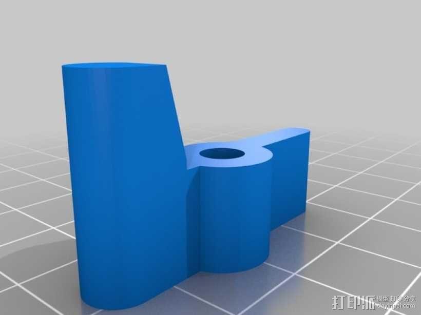 Mendel3D打印机 3D模型  图39