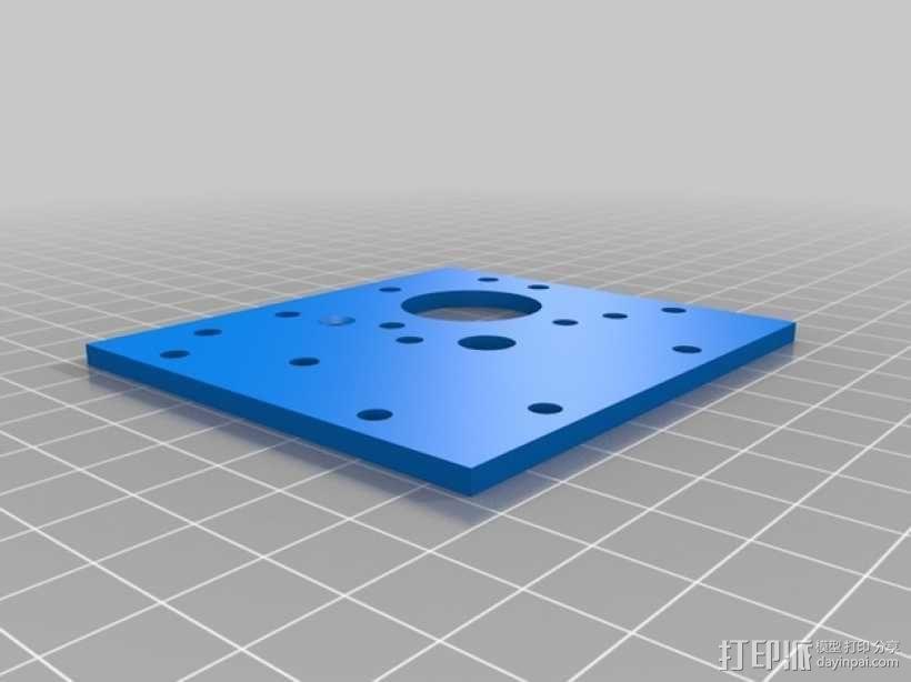 Mendel3D打印机 3D模型  图40