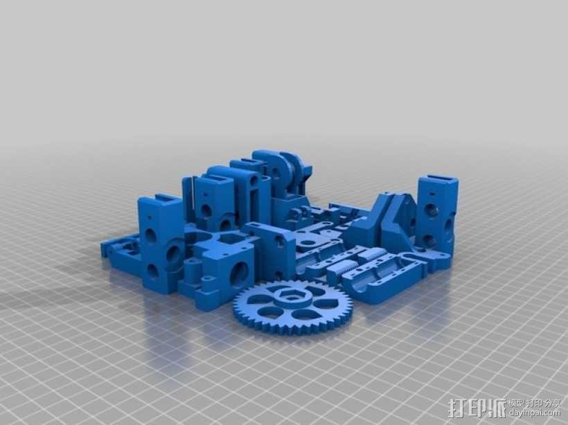 Prusa i3打印机部件 3D模型  图2