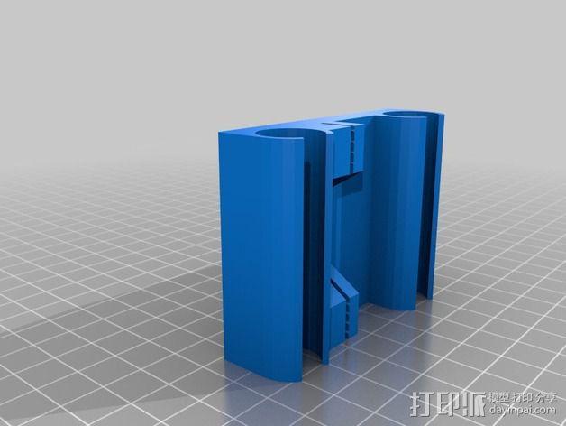 Pi-printer打印机 3D模型  图2