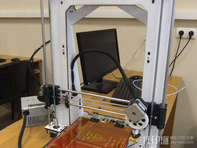 Pi-printer打印机 3D模型  图5