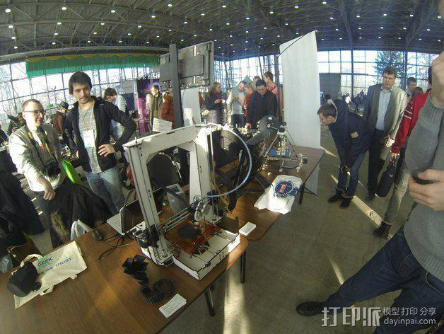 Pi-printer打印机 3D模型  图8