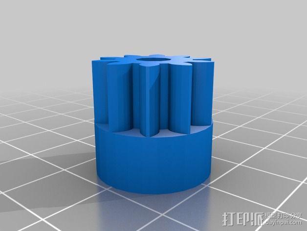 Pi-printer打印机 3D模型  图9