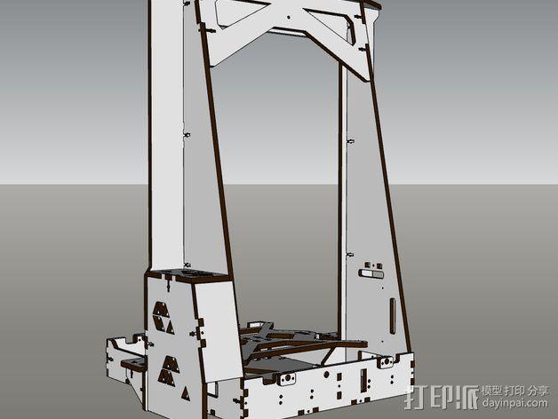 Pi-printer打印机 3D模型  图16