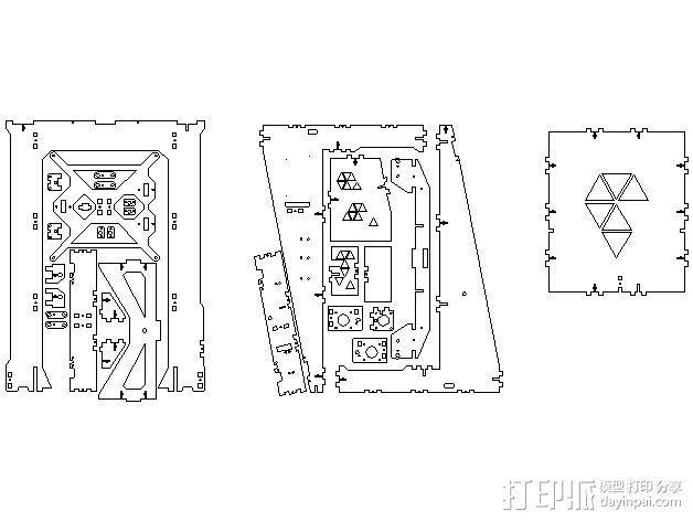 Pi-printer打印机 3D模型  图20