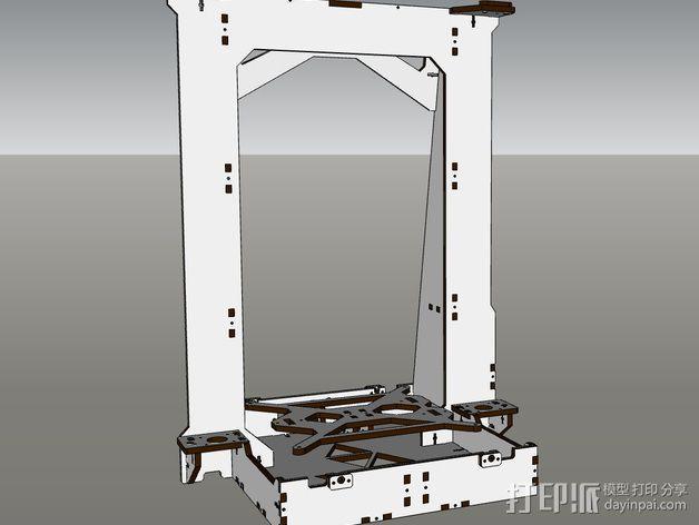 Pi-printer打印机 3D模型  图18