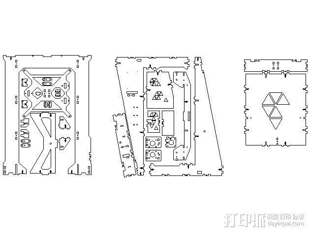 Pi-printer打印机 3D模型  图21