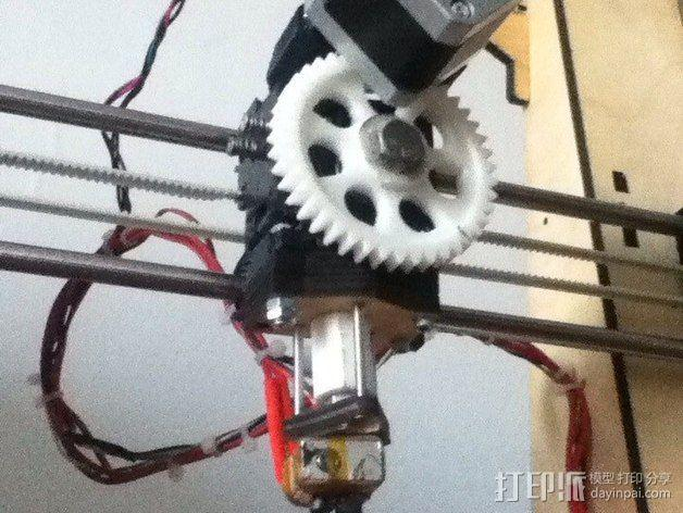 Pi-printer打印机 3D模型  图23