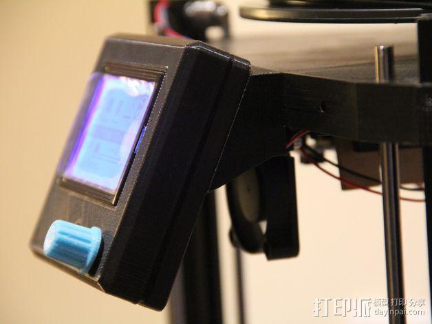 RepRap打印机控制器保护套 3D模型  图4