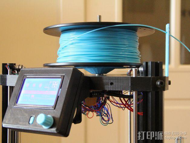 RepRap打印机控制器保护套 3D模型  图2