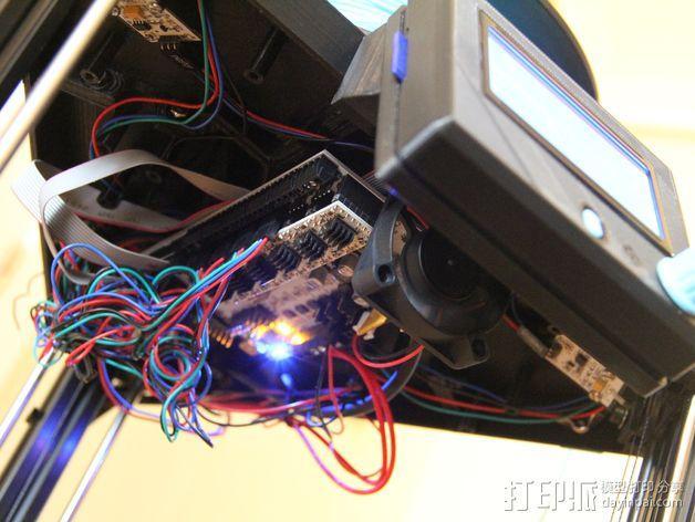 RepRap打印机控制器保护套 3D模型  图5
