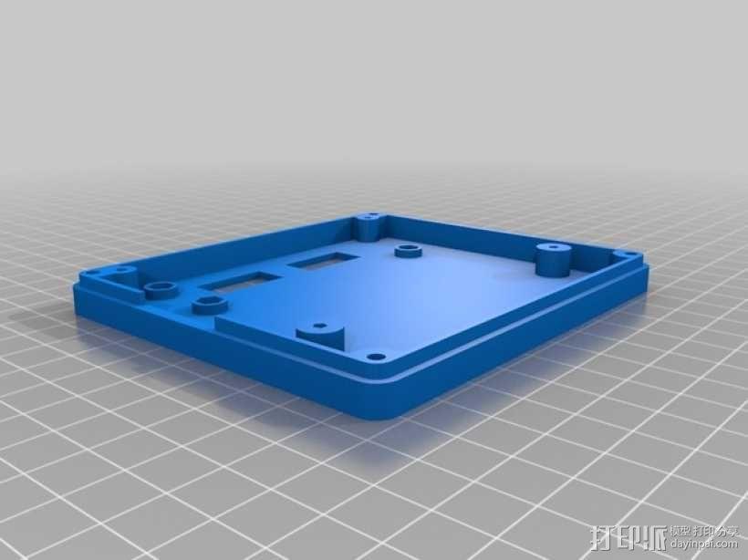RepRap打印机控制器保护套 3D模型  图8
