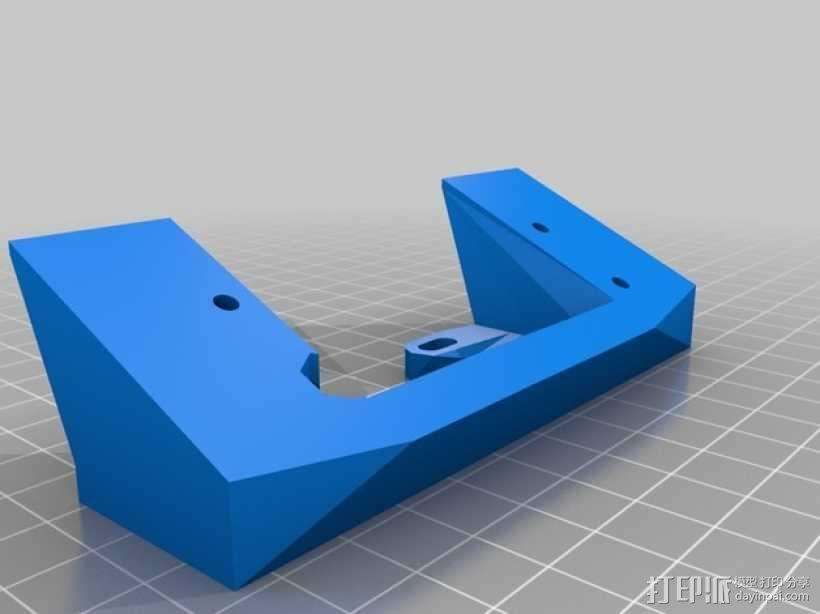 RepRap打印机控制器保护套 3D模型  图9