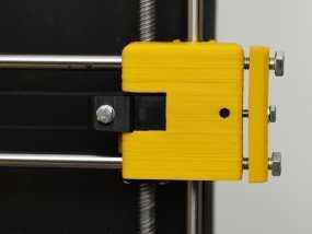 Prusa i3打印机X轴皮带张紧器 3D模型