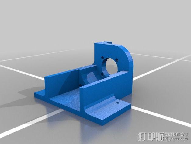 双挤出机 3D模型  图3